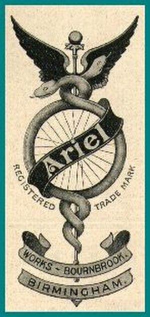 Ariel Motorcycles - Image: Ariel 1910 Logo