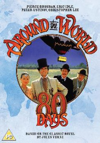 Around the World in 80 Days (miniseries) - DVD Sleeve Artwork