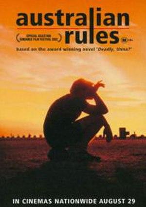 Australian Rules (film) - Australian Rules film poster
