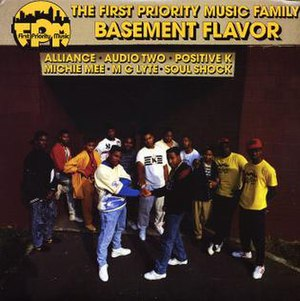 The First Priority Music Family: Basement Flavor - Image: Basement Flavor