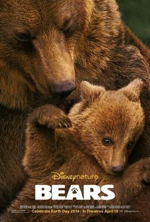 Bears (film) - Theatrical release poster