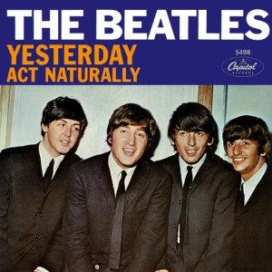 Yesterday (Beatles song) - Image: Beatles singles yesterday