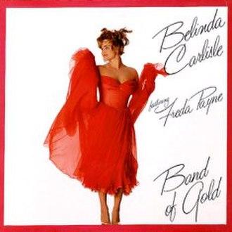Band of Gold (Freda Payne song) - Image: Belinda Carlisle Band Of Gold Go 46996 1
