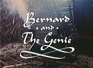 Bernard and the Genie - Title card featuring the lamp