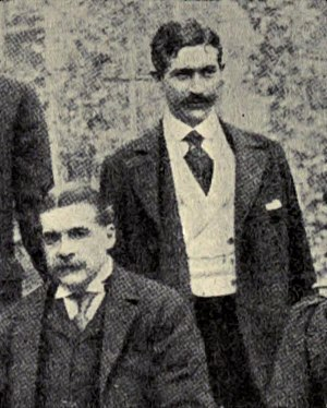 Herbert Sullivan - Herbert Sullivan (right) with his uncle, Arthur Sullivan, c. 1890