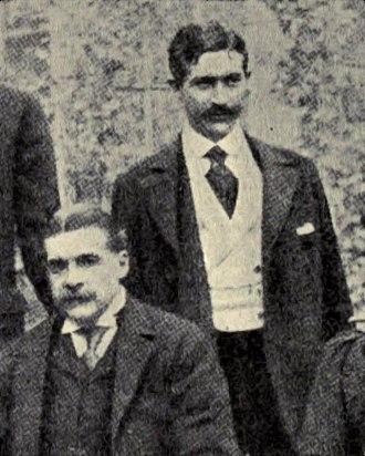 Herbert Sullivan - Herbert Sullivan (right) with his uncle, Arthur Sullivan, c. 1890
