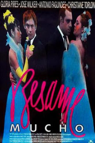 Besame Mucho (film) - Theatrical release poster
