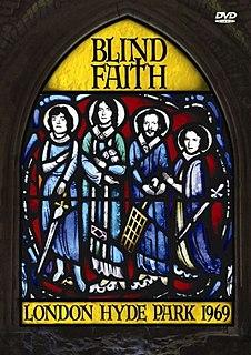 <i>London Hyde Park 1969</i> 2005 live video album by Blind Faith