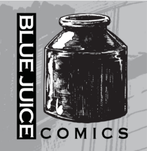Blue Juice Comics - Image: Blue Juice Comics Logo