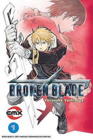 Broken Blade - Image: Broken Blade first edition cover