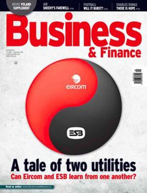 Business & Finance - Image: Business & Finance (magazine cover)