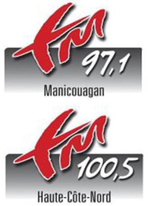 CHLC-FM - Image: CHLC 97,1 100,5 logo
