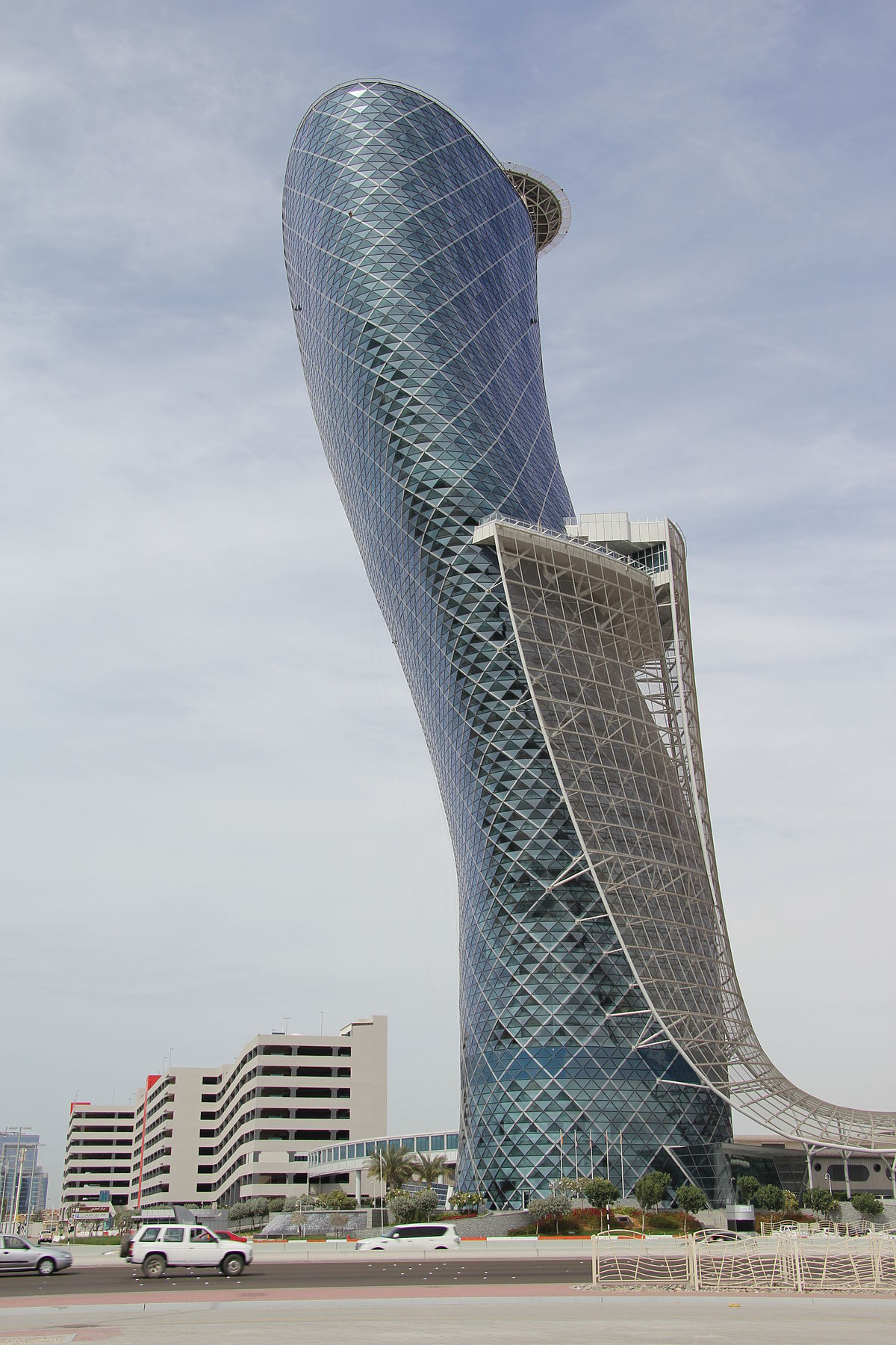 Capital Gate - Wikipedia