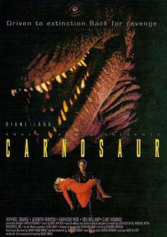 Carnosaur (film) - Theatrical release poster