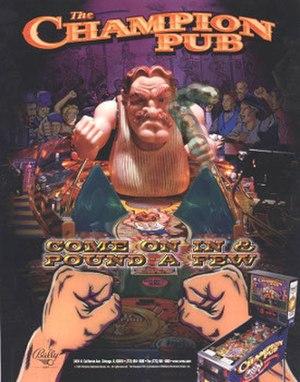The Champion Pub - Image: Champion Pub Pinball