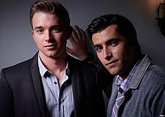 Chandler Massey as Will Horton and Freddie Smith as Sonny Kiriakis.jpg