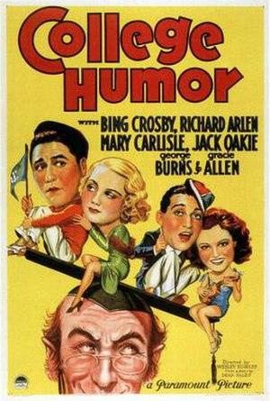 College Humor (film) - Image: College Humor Film Poster