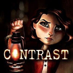 Contrast (video game) - Game logo