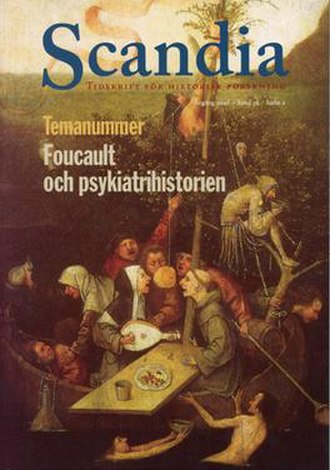 Scandia (journal) - Image: Cover of Scandia