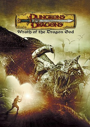 Dungeons & Dragons: Wrath of the Dragon God - DVD cover for the film