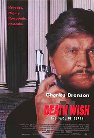 Death Wish V: The Face of Death - Theatrical release poster
