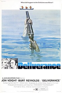 <i>Deliverance</i> 1972 American thriller film by John Boorman