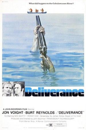 Deliverance - Image: Deliverance poster