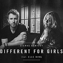 Image result for dierks bentley different for girls