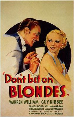 Don't Bet on Blondes - Image: Don't Bet on Blondes