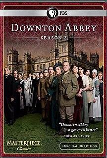 <i>Downton Abbey</i> (series 2) season of television series