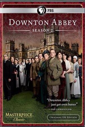 Downton Abbey (series 2) - Region 1 USA DVD cover