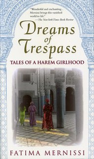 <i>Dreams of Trespass</i> 1994 novel written by Fatima Mernissi