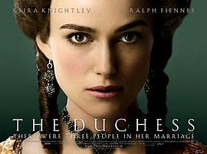 The Duchess (film) - Theatrical release poster