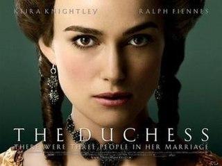 <i>The Duchess</i> (film) 2008 film directed by Saul Dibb