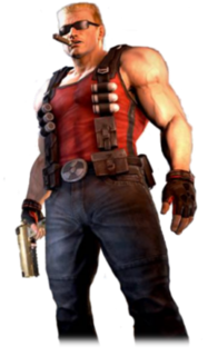 Duke Nukem (character) protagonist of the eponymous video game series