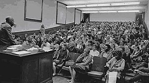 Eknath Easwaran - Eknath Easwaran teaching what is thought to be the first credit course on meditation offered at a major university in the U.S. at U.C. Berkeley in 1968