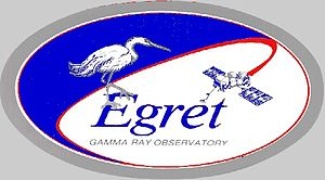 Energetic Gamma Ray Experiment Telescope - The instrument's logo.