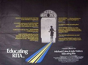 Educating Rita - Poster for the film.
