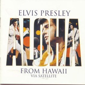 Aloha from Hawaii Via Satellite (album) - Image: Elvis Presley Aloha Cover