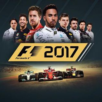 F1 2017 (video game) - Image: F1 2017 cover art