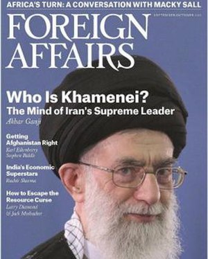 "Foreign Affairs - The article ""Who is Khamenei"" by Akbar Ganji, which was published in the magazine's September/October 2013 issue, emphasized the view that the Supreme Leader is the primary decision maker in Iran."