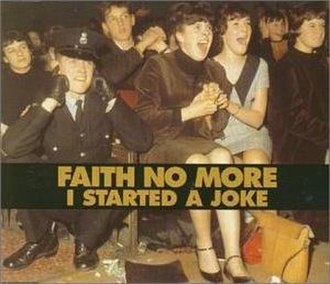 I Started a Joke - Image: Faith No More – I Started a Joke (CD1)