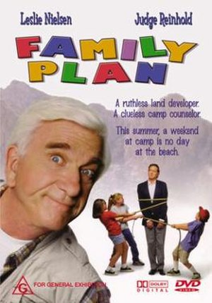 Family Plan (1997 film) - DVD cover