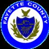Oficjalna pieczęć hrabstwa Fayette