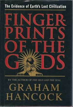 Fingerprints of the Gods - Cover of the first American edition