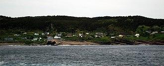 Flatrock, Newfoundland and Labrador - View from town wharf