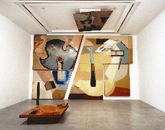 Frederick John Kiesler - Frederick Kiesler, Horse Galaxy, 1954, installation view at Jason McCoy Gallery, 1993.