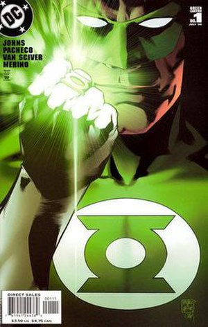 Green Lantern (comic book) - Image: GL Vol 4no 1
