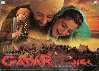 <i>Gadar: Ek Prem Katha</i> 2001 Hindi film by Anil Sharma