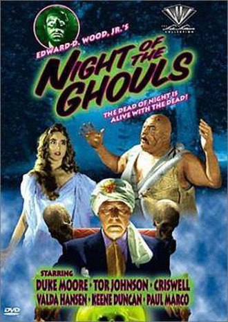 Night of the Ghouls - Image DVD cover